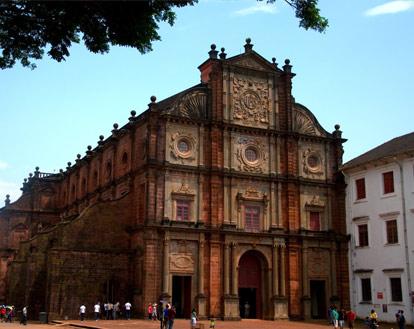 The Basilica Of Bom Jesus Church