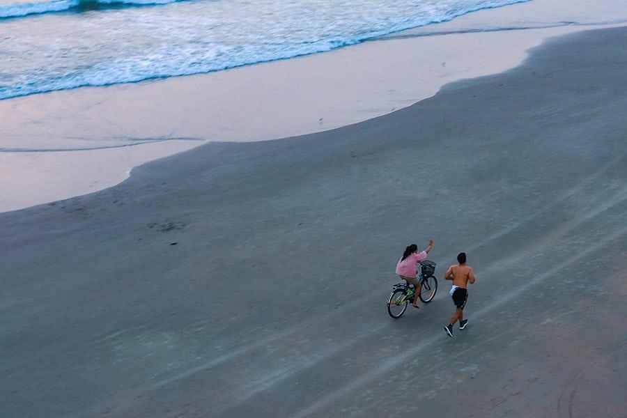 beach cycling beleza