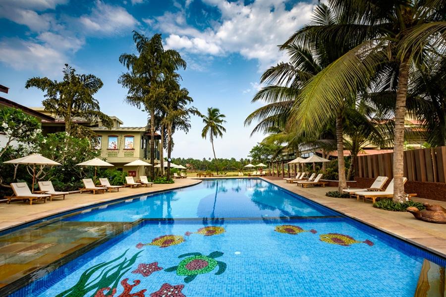 Swimming pool in beleza goa